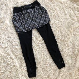 Athleta Skirts - Athleta Plaid Skapri Skirt Pants